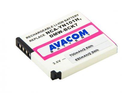 Panasonic DMW-BCK7 Li-Ion 3.6V 700mAh 2.6Wh