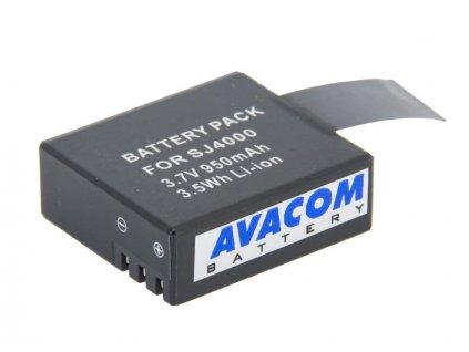 Sjcam Li-Ion 3.7V 950mAh 3.5Wh pro Action Cam 4000, 5000, M10
