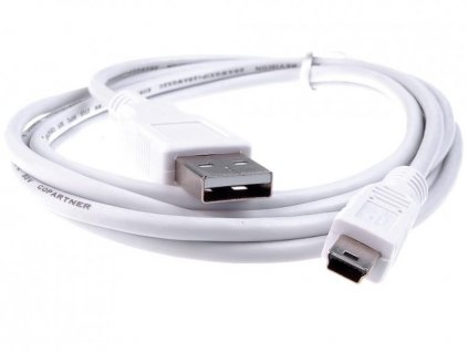 USB 2.0.kabel - mini-USB 5pin universal, 1,8m