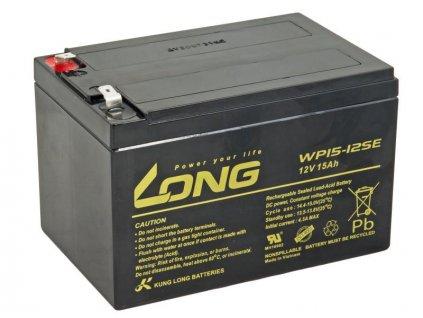 LONG baterie 12V 15Ah F2 DeepCycle (WP15-12SE)