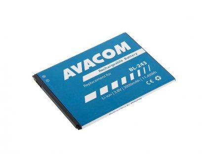 Baterie do mobilu Lenovo A7000 Li-Ion 3,8V 3000mAh (náhrada BL243)