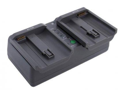 AVACOM MarkPRO X2 dvouslotová nabíječka pro Li-Ion akumulátor Nikon EN-EL4, EN-EL4a, EN-EL18A, EN-EL18B, Canon LP-E4, LP-E19