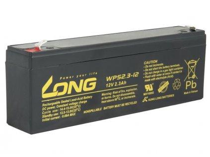LONG baterie 12V 2,3Ah F1 (WPS2.3-12)