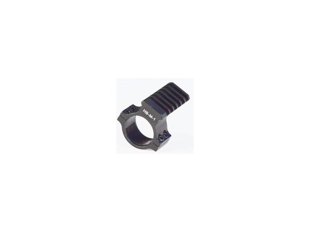 Montáž na optiku s weaver výstupom 25mm