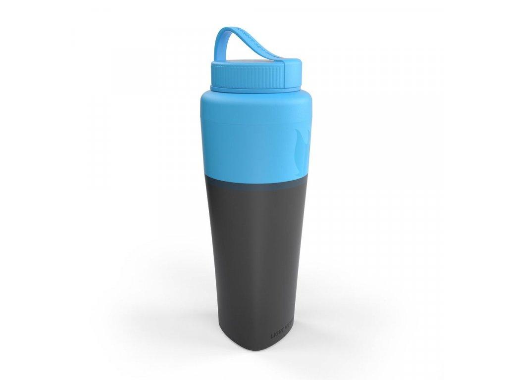 Light My Fire fľaša Pack-up-Bottle Cyan Blue