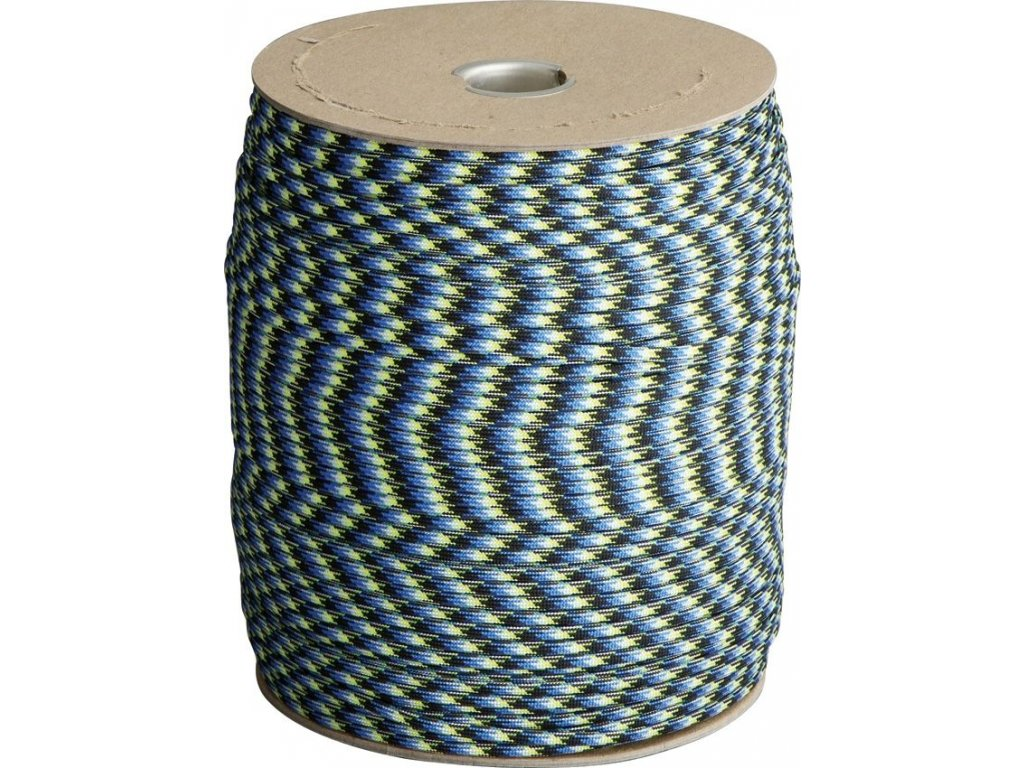 Parachute Cord Blue Snake