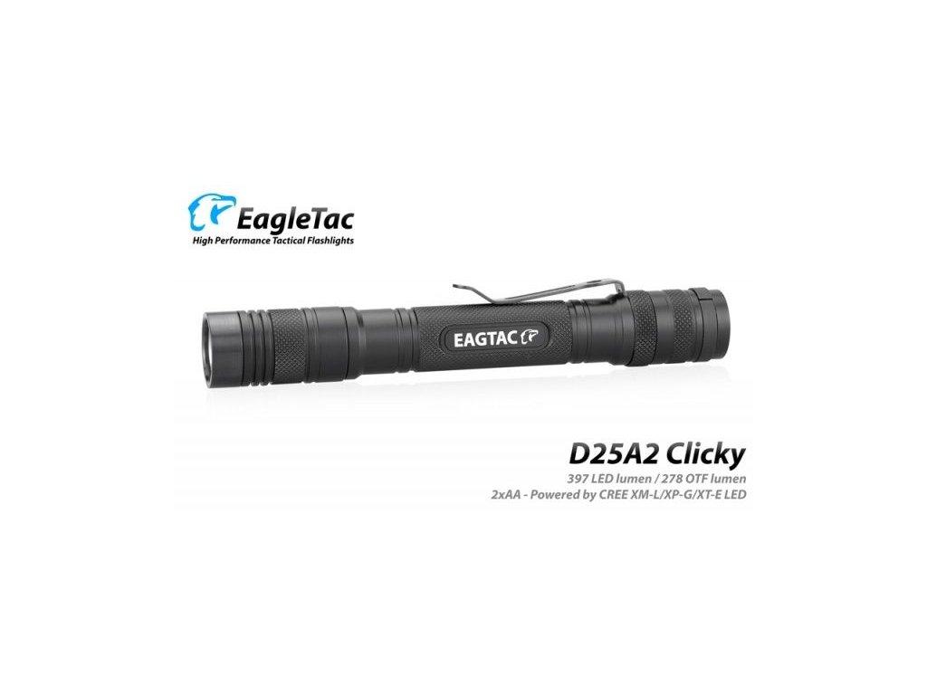 EagleTac D25A2 Clicky XM-L2 U2