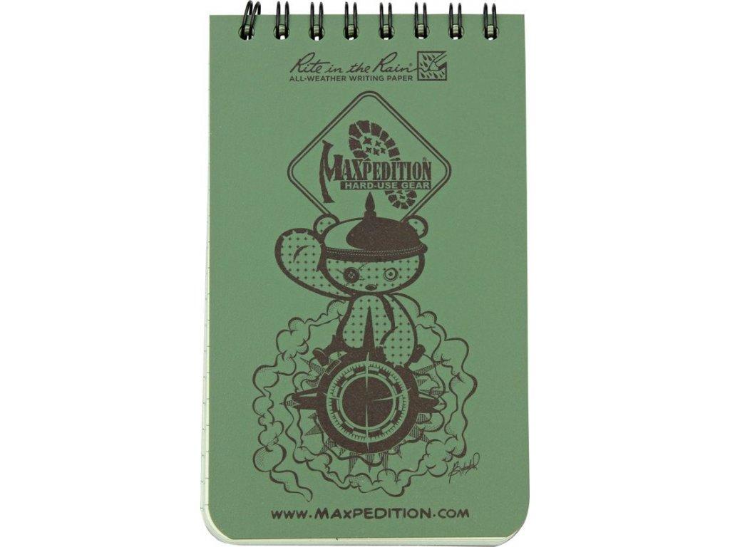 MAXPEDITION Waterproof Notebook MX935