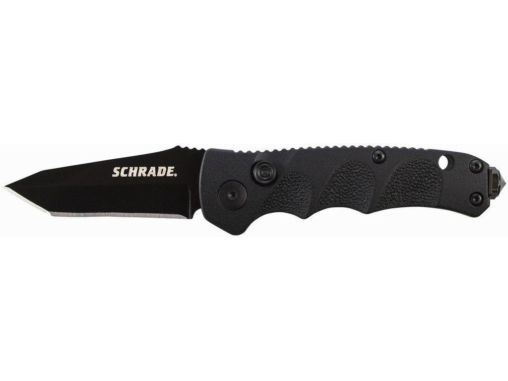 Schrade Mini Push Button Lock Folding Knife