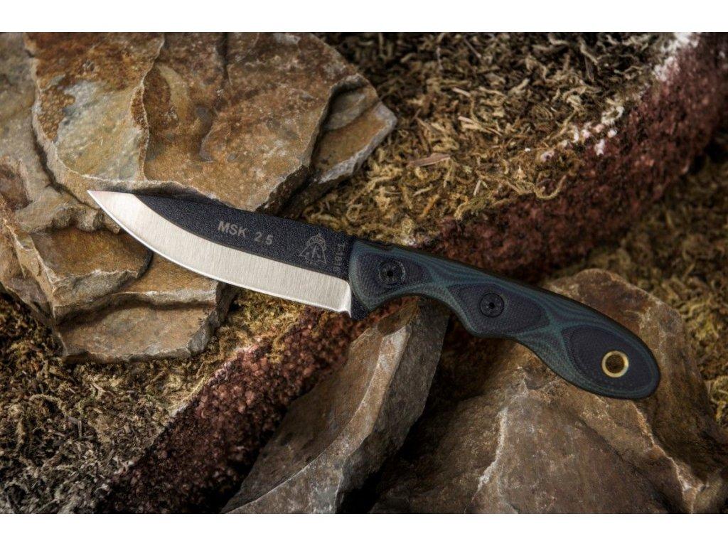 TOPS MINI SCANDI KNIFE 2.5 Green/Black G-10