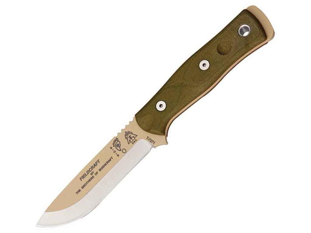 TOPS B.O.B. KNIFE (Coyote Tan)