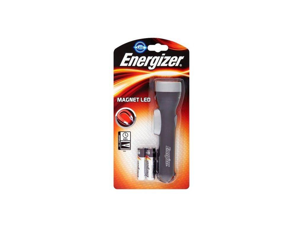 Ručné svietidlo s magnetom ENERGIZER Magnet LED 2AA