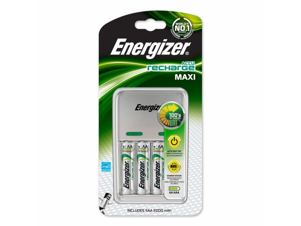 Energizer Maxi + 4x AA 2000mAh