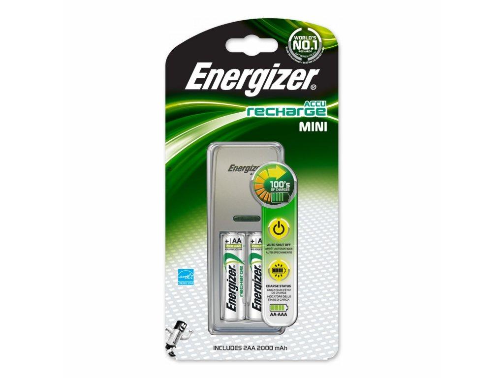 ENERGIZER MINI + 2ks AA 2000mAh