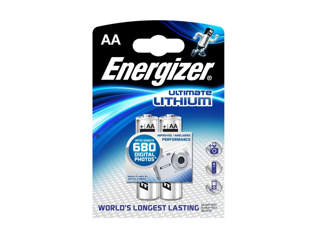 Energizer Ultimate Lithium AA 2ks