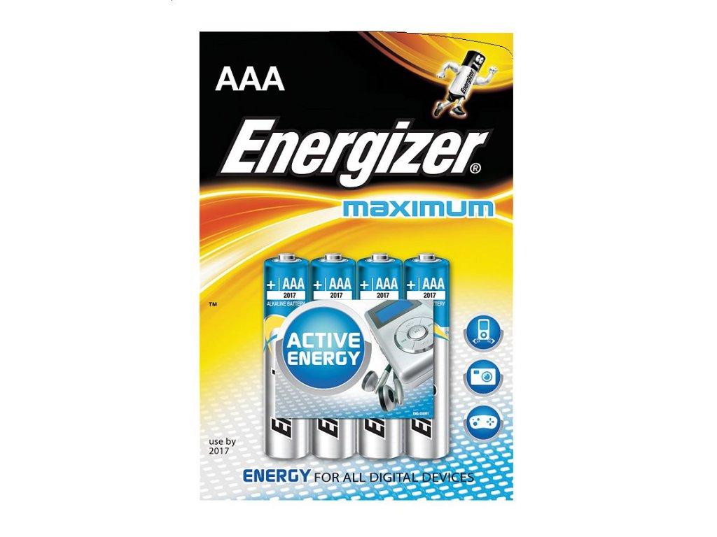 ENERGIZER MAXIMUM AAA 4KS