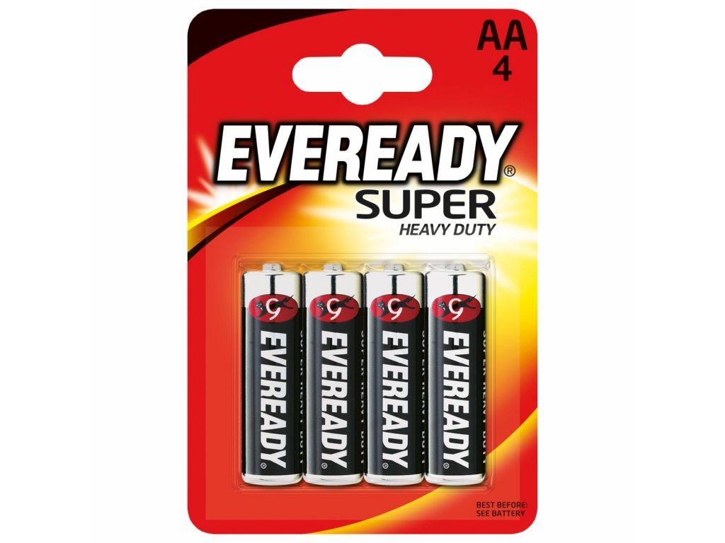 ENERGIZER Eveready 4xAA