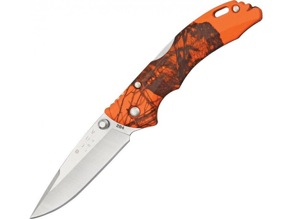 Buck Bantam BBW Lockback Knife Mossy Oak Blaze Camo