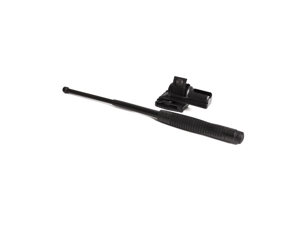 "ESP Teleskopický obušok 18"" kalený čierny ergonomická rukoväť"