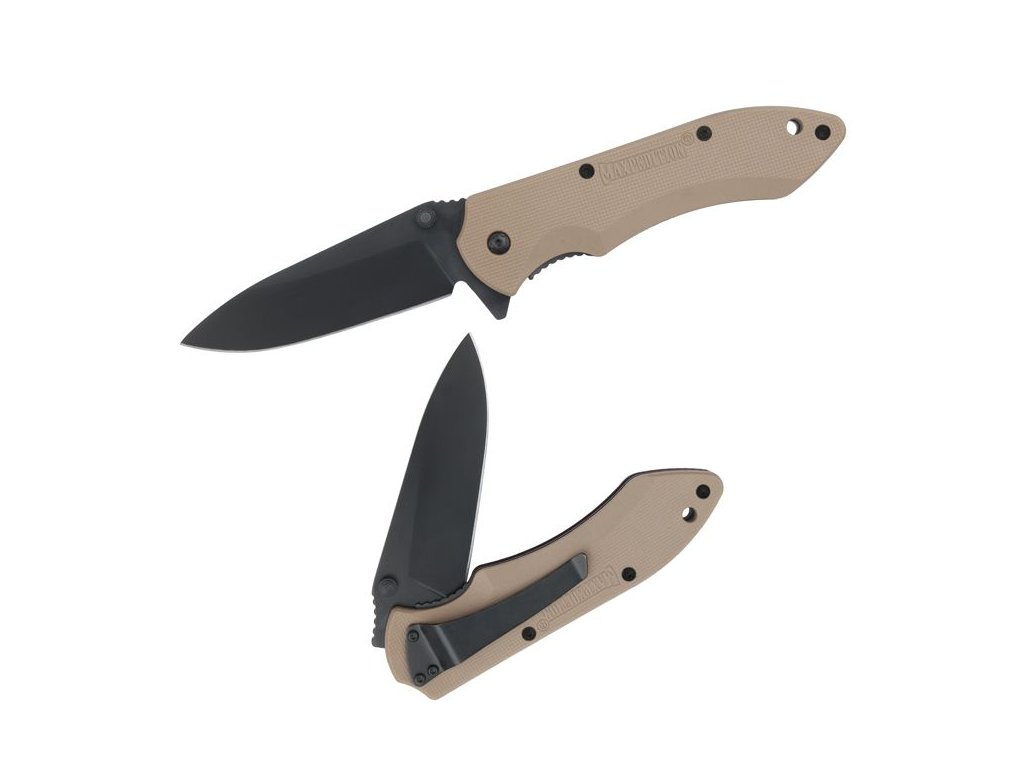 Maxpedition Ferox Folding Knife Khaki Hangle