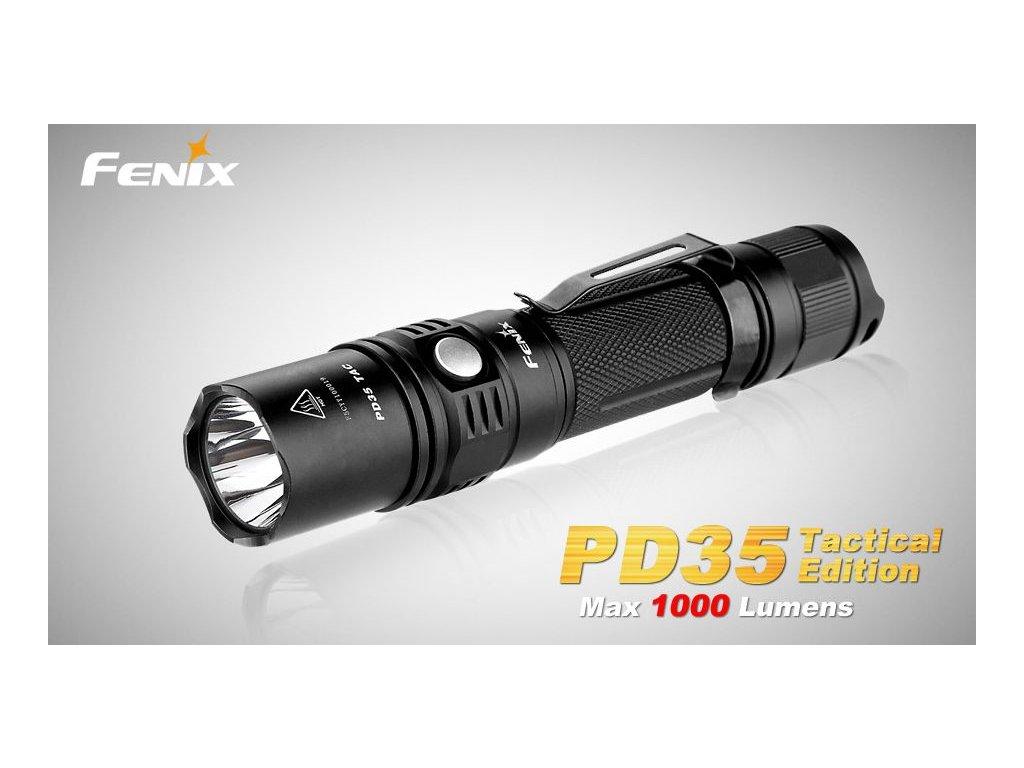 Taktické svietidlo Fenix PD35 TAC