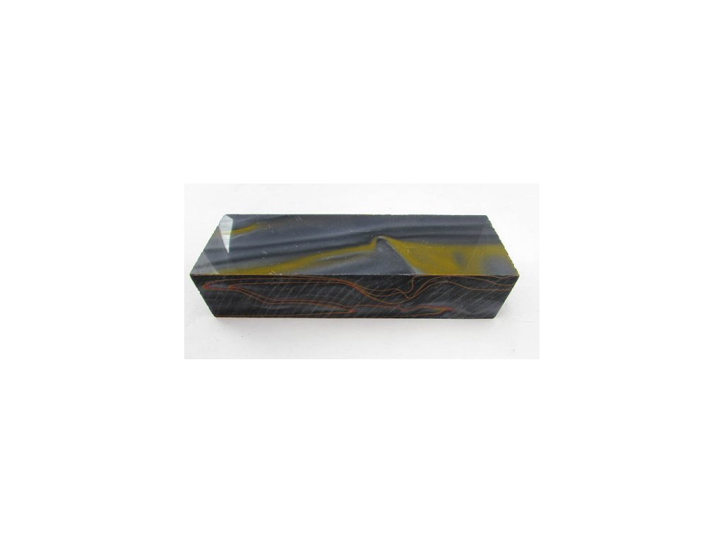 Acrylic Orange/Black block