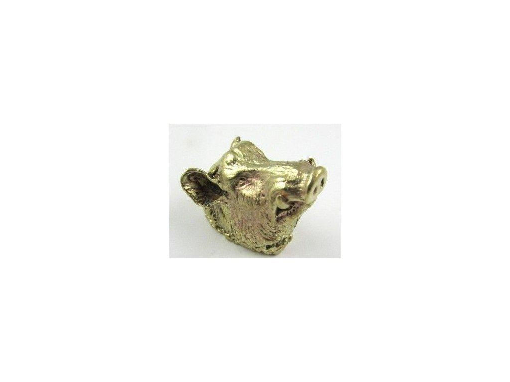 Cap Boar Brass