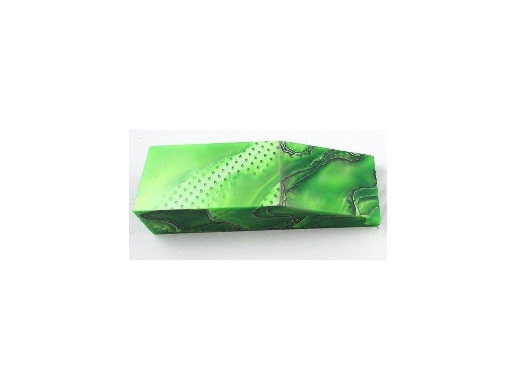 Acrylic Emerald block
