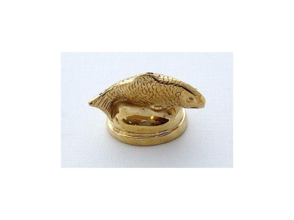 Cap Salmon Brass