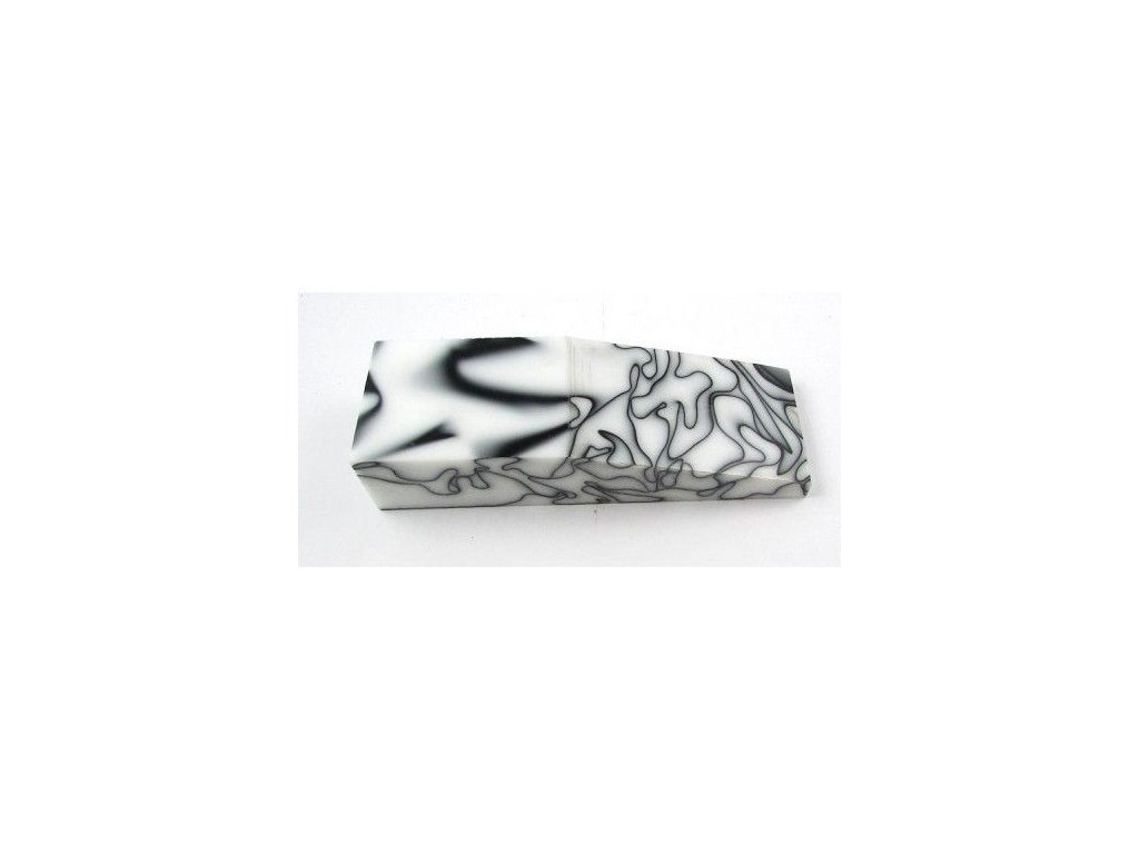 Acrylic Black n White block