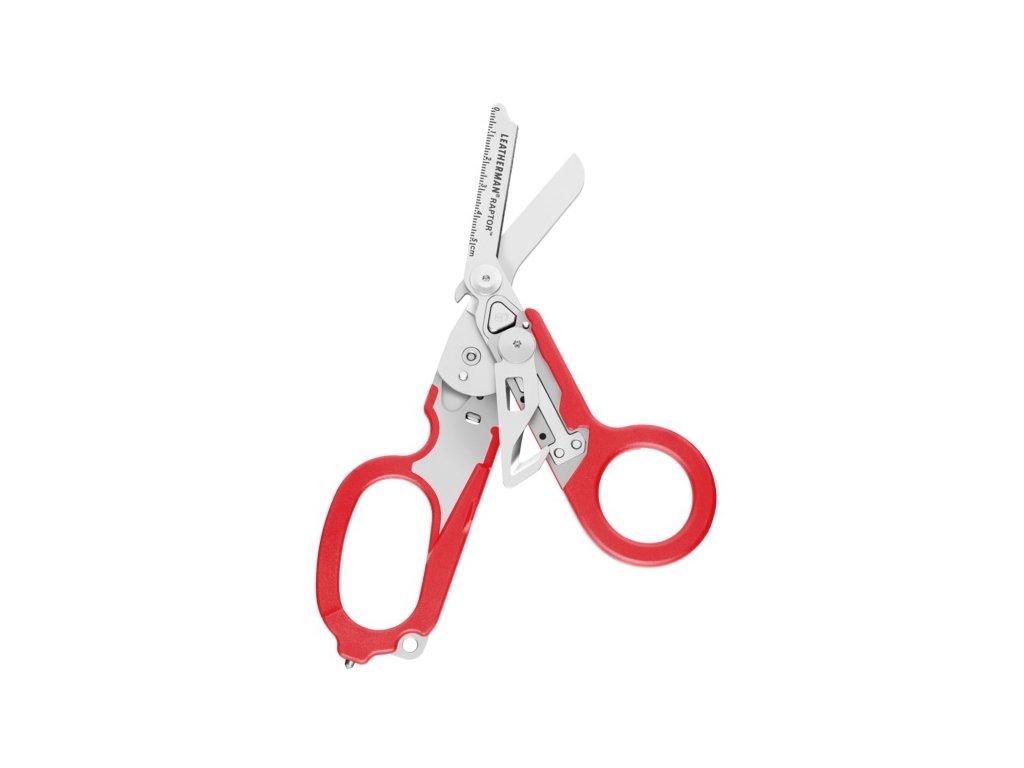 Nožnice záchranárske Leatherman RAPTOR RED LTG 832337