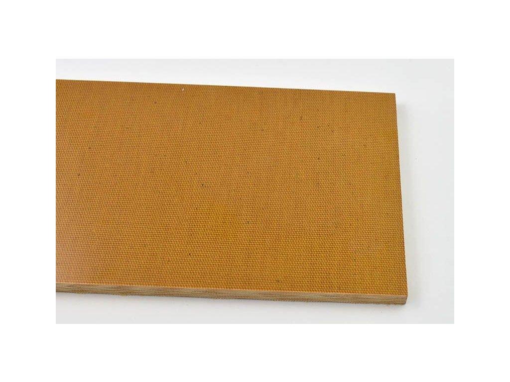 Micarta Mustard Canvas Large