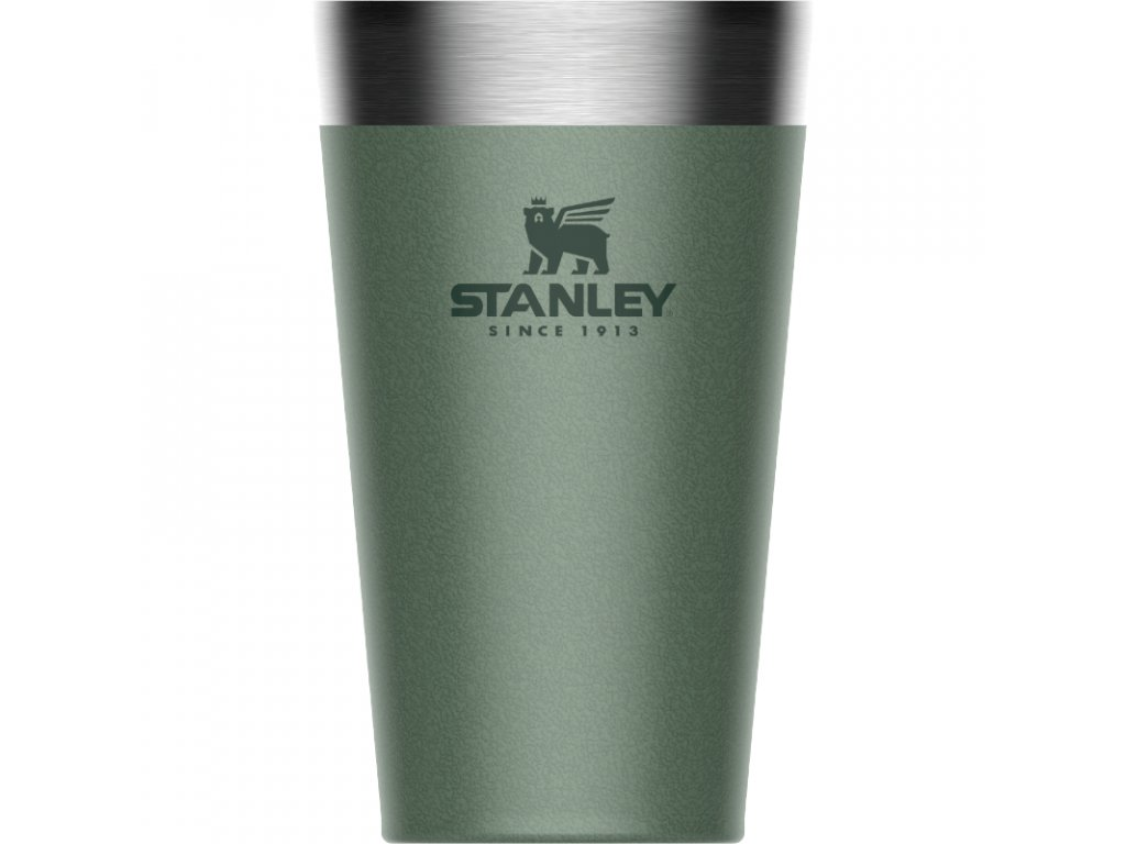 Pohár STANLEY The Stacking Beer Pint .47L / 16oz Hammertone Green 10-02282-057