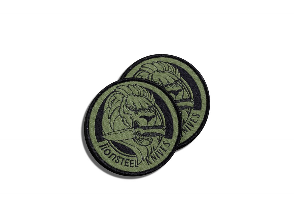 embroidery patch green