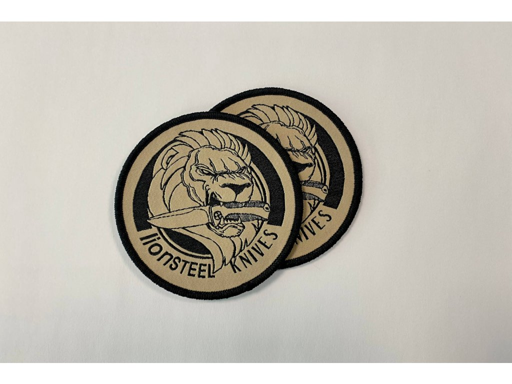 embroidery patch sand