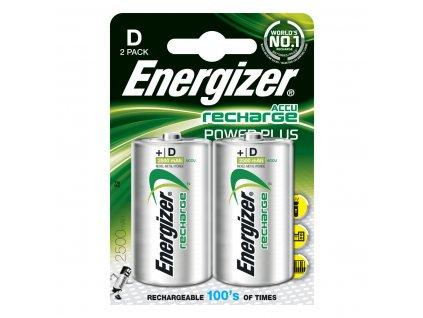 ENERGIZER Reacharge 2500 mAh D 2ks