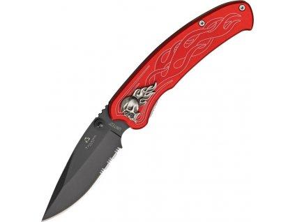 United Cutlery Nova Skull A/O Linerlock Red