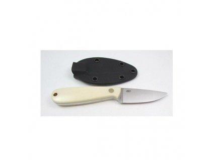 EnZo Necker 70 knife/Kydex/Ivory Micarta