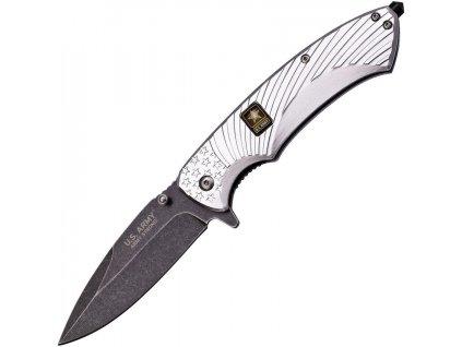 US Army Linerlock A/O Silver