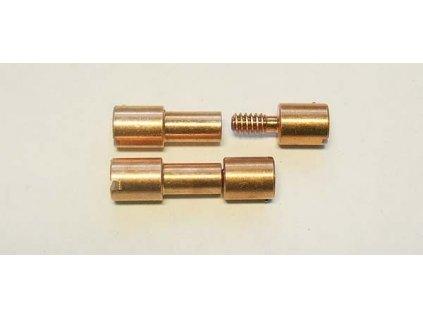 Corby rivet Copper 1 ks 1/4