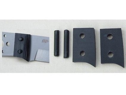 Bolster set/ Black G10 Trapper