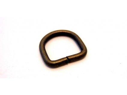 D rings Antique - 13mm/10 ks