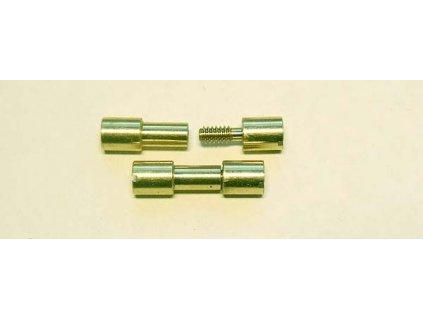 Corby rivet brass 1 ks 1/4