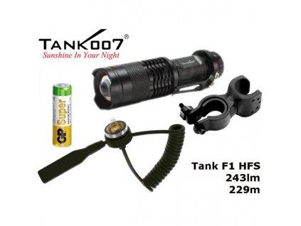 LED Baterka Tank007 F1 H Full Set, GP Alkaline 1,5V
