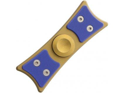 Bastion EDC fidget spinner large gold