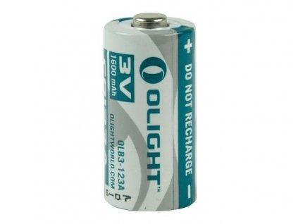 OLIGHT Batéria CR123A nenabíjateľná 1600 mAh 3V