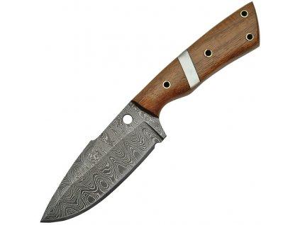 Damaškový nôž Damascus Walnut Fixed Blade DM1126