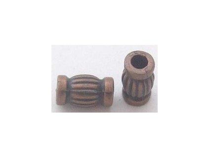 Kovová korála Metal Bead /Antique Copper 10 pcs