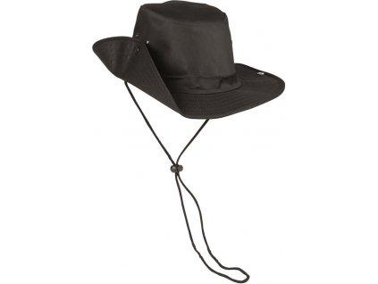 Plátený klobúk Miltec 12320002 čierny