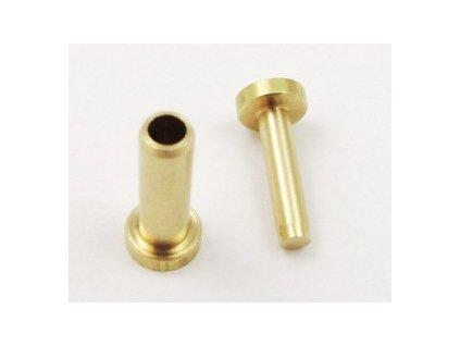 Nity Cutlery rivets long Pro/Brass